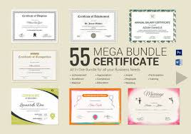 Certificate Template Photoshop 33 Psd Certificate Templates Psd Free Formats Download
