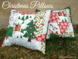 2 Quick and Simple Christmas Pillows &  Adamdwight.com