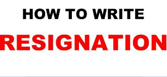 resignation letter sample video l write one month prior notice l resignation letter sample video l write one month prior notice l microsoft word