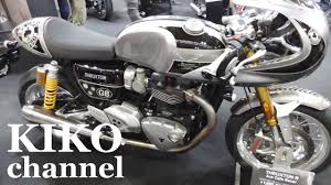triumph motorcycle 2017 new thruxton r ace cafe racer street