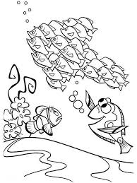 Finding Nemo Coloring Pages For Kids Free Printable Finding Nemo