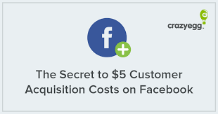 customer acquisition cost the secret to 5 customer acquisition costs on facebook