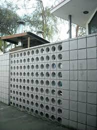 decorative cinder block wall concrete blocks for garden walls cement repair