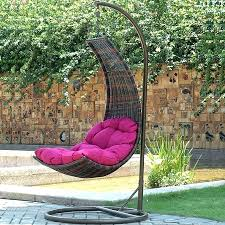 outdoor hanging chairs egg chair canada adelaide
