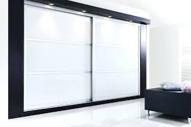 wardrobes 762 mm sliding wardrobe doors white white glass panel sliding doors soft white glass