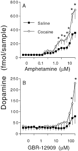 Repeated Cocaine Modifies The Mechanism By Which Amphetamine