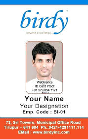 Work Employee Free Identification Staff Sample Vertical Badge D 5 Template Id Card Photo Download For