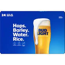 Bud Light Rice Or Wheat Bud Light Beer 24 Pack 12 Fl Oz Bottles