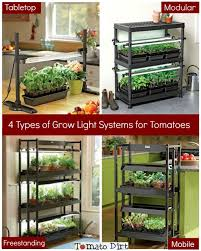 4 grow lights structures