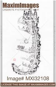 Alchemy Chart Image Of Daoist Classical Nei Jing Tu Chart Of Inner Alchemy Landscape In Nei Dan Practice Stock Image Mxi32108