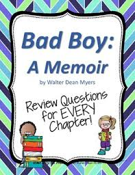 common core nonfiction book study for ri teachers pay teachers  bad boy a memoir review questions for each chapter