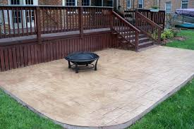 stamped concrete patio cost amazing how much does a calculator uk paver per