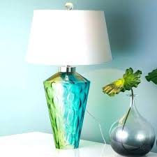 blue glass table lamp turquoise glass table lamp full image for turquoise blue glass table lamp