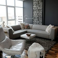 Gray Living Room Custom Decorating