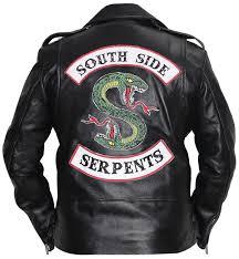 men riverdale southside serpents leather jacket