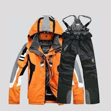 High quality <b>winter ski suit</b> For <b>men ski jacket</b> Trousers Waterproof ...