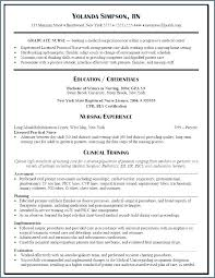 Registered Nurse Resume Template New Registered Nurse Resume Template Resume Template Resume For Unique