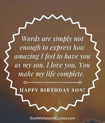 Love My Son Quotes Simple Love For A Son Quotes And I Love You Quotes For Produce Stunning