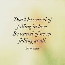 Scared To Fall In Love Quotes Simple Scared To Fall In Love Quotes Adorable Quotes About Love Don't Be