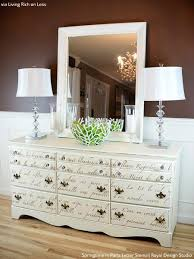 Write on 10 Amazing Furniture Painting Ideas with Letter Stencils