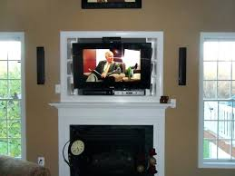 mounting a tv above a gas fireplace mounting above fireplace tips interior exterior ideal hanging above mounting a tv above a gas fireplace