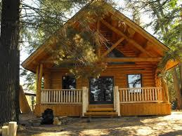 the roberts log home
