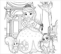 Printable princess coloring pages, color sheets and print pictures! 20 Princess Coloring Pages Vector Eps Jpg Free Premium Templates