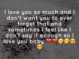 i love you so much nice ecard the