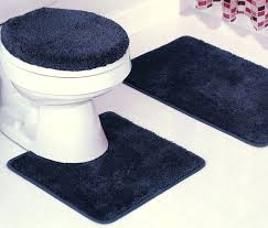 navy blue bathroom rugs very attractive rug set and white