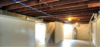 unfinished basement ceiling ideas. Fine Unfinished Unfinished Basement Ceiling Ideas Paint Painted  Image Of Inside Unfinished Basement Ceiling Ideas A