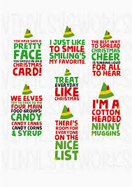 elf movie quotes. Plain Movie Elf Movie Quotes SVG FILE PACK With Pinterest