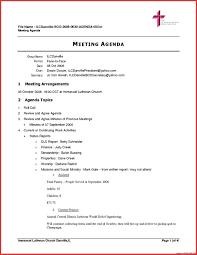 Agenda Of Meeting Template Template Agenda Meeting Minutes Template 10
