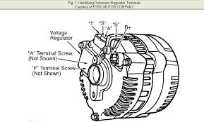 1997 ford mustang v6 new alternator, new battery tight 1966 mustang alternator wiring diagram at Mustang Alternator Wiring Diagram