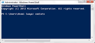 Powershell Windows Why Are Windows Powershell Commands Called Cmdlets