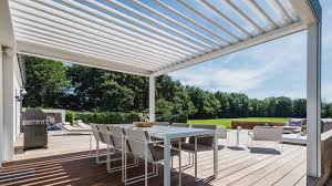 Image result for Is A Motorized Pergola Right For You?