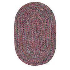 dessi jewel multi 10 ft x 10 ft braided indoor outdoor round area