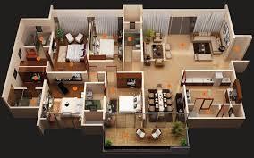 Superior Modern 4 Bedroom House Plans