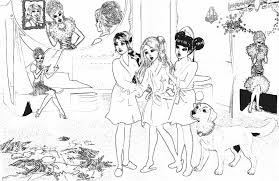 Small Picture Barbie Princess Charm School Coloring Pages