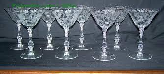 Depression Glass Patterns Fascinating Cambridge Glass Cambridge Glass Stemware Patterns Bigskysearch