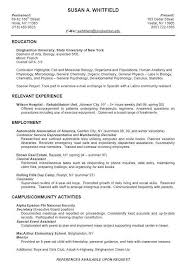 Undergraduate Sample Resume Mesmerizing Resume For Undergraduate Student Elegant Sample Resume For College