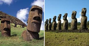 Stonehenge ii was erected as an amusing art project by the late al shepperd and his friend and neighbor, doug hill. Archaeologists Discover That Easter Island Heads Have Bodies
