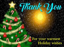 Free Holiday Photo Greeting Cards My Holiday Thank You Card Free Holiday Thank You Ecards