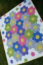 1551 best Patchwork e Aplicações -2- images on Pinterest | Baby ... & Childrens Patchwork Geomegric Hexagon Quilt - Baby Toddler Tween Girl -  Pink Purple Green Blue Yellow Adamdwight.com