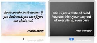 Freak The Mighty Novel Quotes Posters And Powerpoints