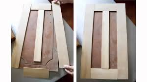 Making Kitchen Cabinet Doors Resurface Cabinet Doors Youtube