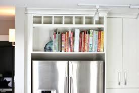 Wine Rack Above Fridge Top Above The Fridge Cookbook Shelf Wine Rack