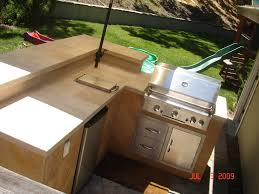 l shaped outdoor kitchen layout home trends and images best
