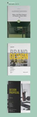 Professional Business Proposals Business Proposal Brochure Templates Design Graphic