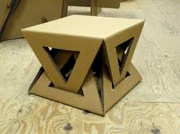 diy cardboard furniture. Cardboard Table Maybe I Can Figure Out How To Make This Of Wood. Diy Furniture