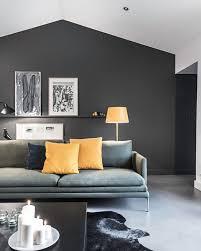 Beautiful Deco Salon Gris Blanc Mur